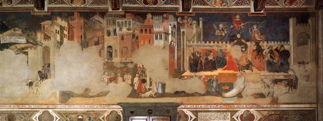 Ambrogio Lorenzetti Allegoria ed effetti del Buono e del Cattivo governo
