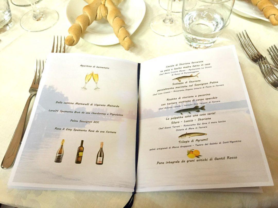 menu slow food