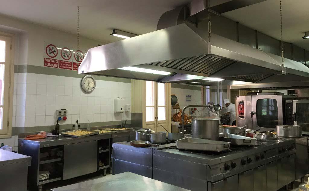Cucine della tenuta La Montina