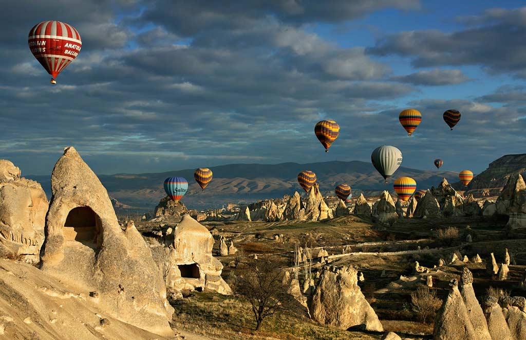 Hai mai pensato di fare un tour della Napa Valley in mongolfiera? Romanticissimo ed emozionante!