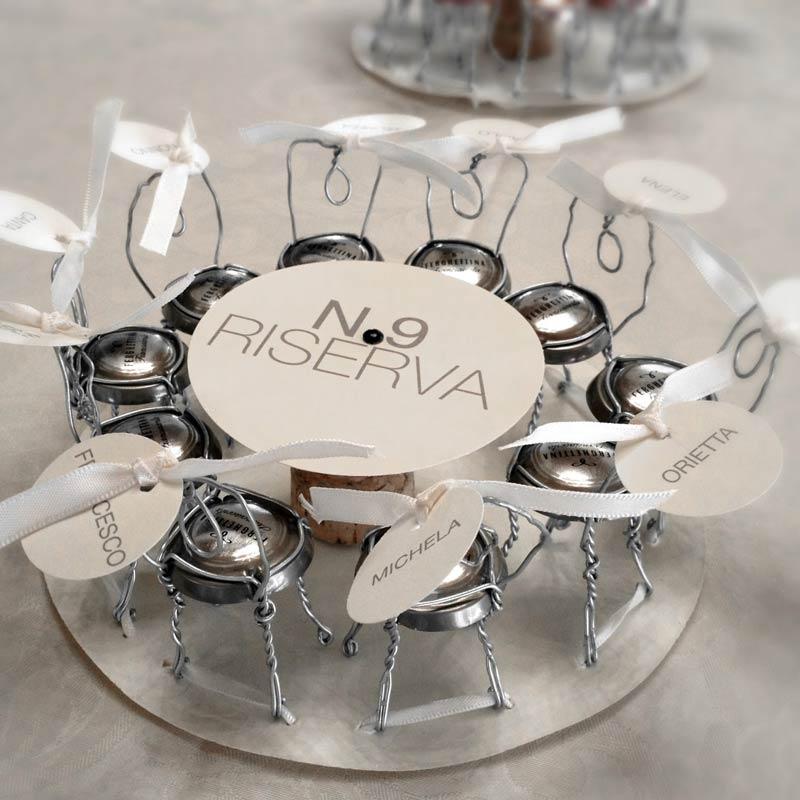 Come organizzare il tuo matrimonio divino perlage suite - Idee originali per segnaposto matrimonio ...