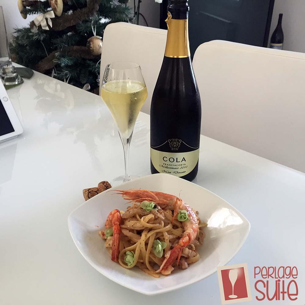 franciacorta-cola-battista-linguine-gamberi-melanzane-abbinamento-cibo-vino