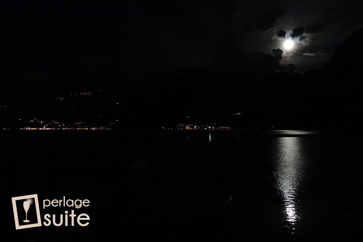 lago iseo castro riva di solto notte luna