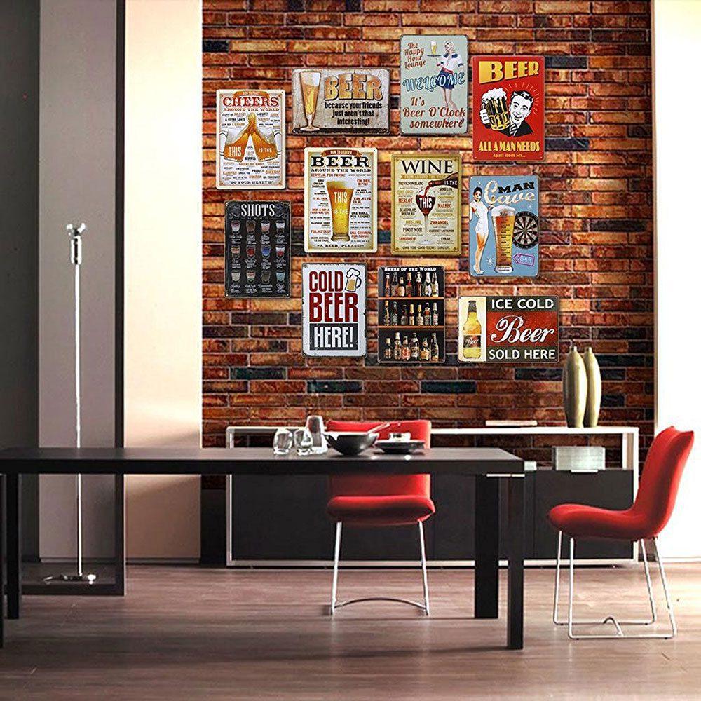 poster arredo menu ristorante