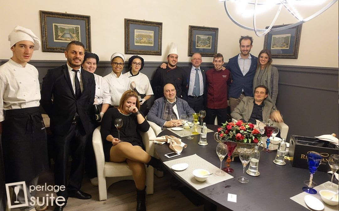 Il Franciacorta Riccafana al Ristorante I Templari di Brescia: abbinamento riuscito!