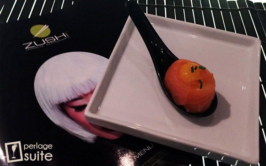 Zushi Japanese Restaurant di Brescia e Prosecco Banda Rossa di Bortolomiol