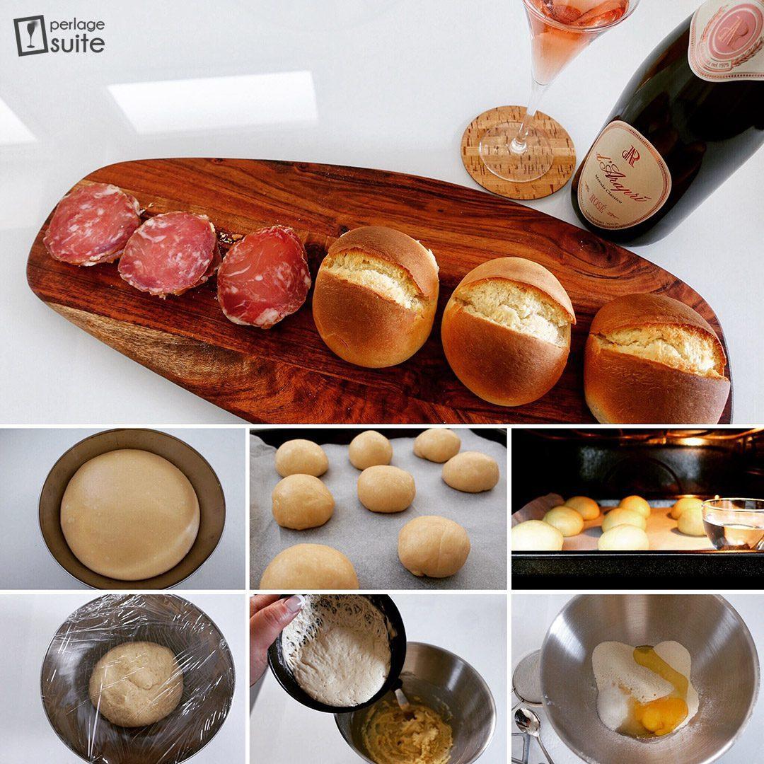 spumante metodo classico ricetta spongada