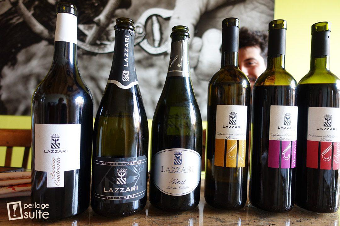 vini biologici lazzari degustazione