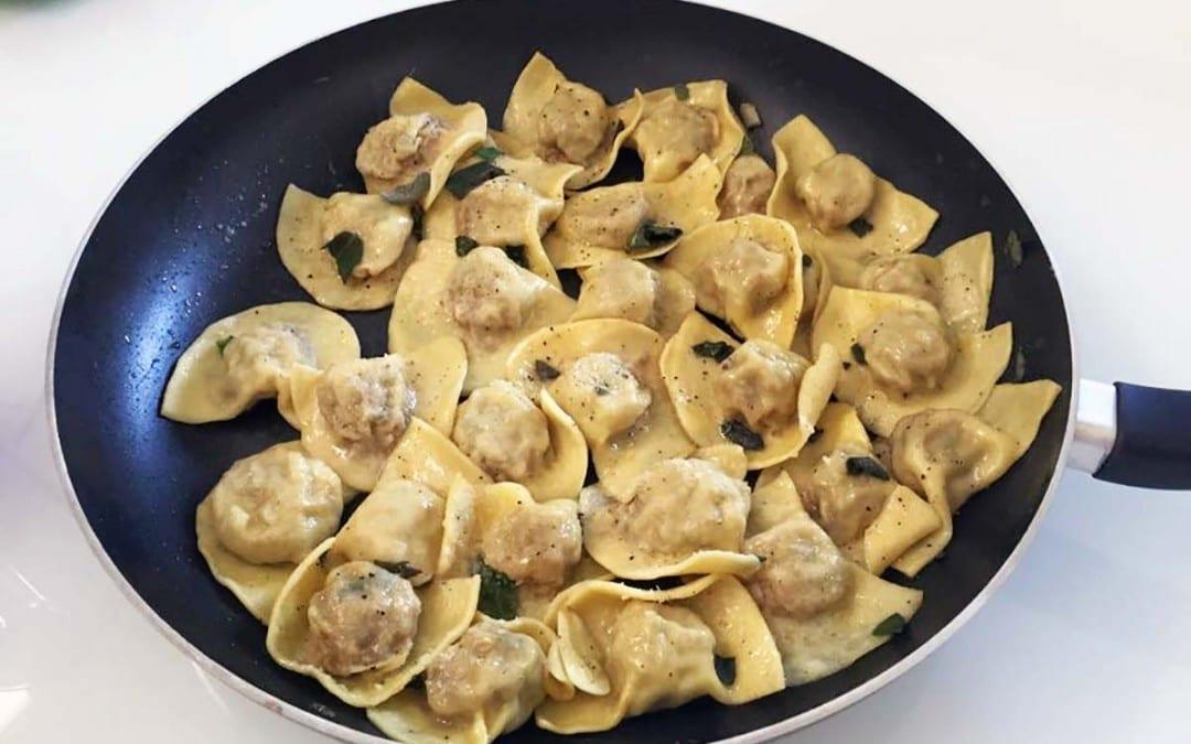 Casoncelli Bergamaschi: ricetta con variante enoica