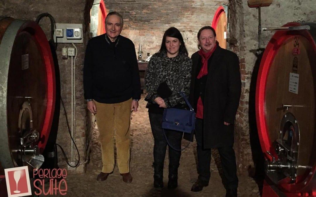 Nel palazzo/cantina del Marchese Umberto Fracassi: degustazione, chiacchiere e musica