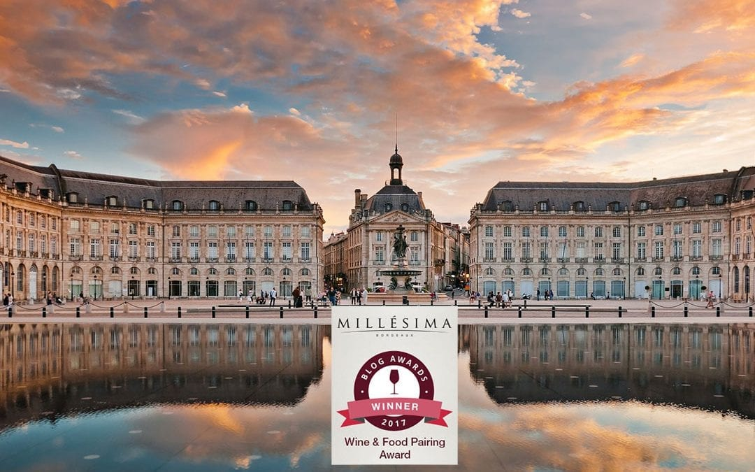 Millesima Blog Awards 2017: Perlage Suite vincitore per l'Europa nella categoria Food & Wine Pairing