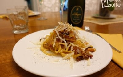 Spaghetti alla Carbonara: ricetta e abbinamento