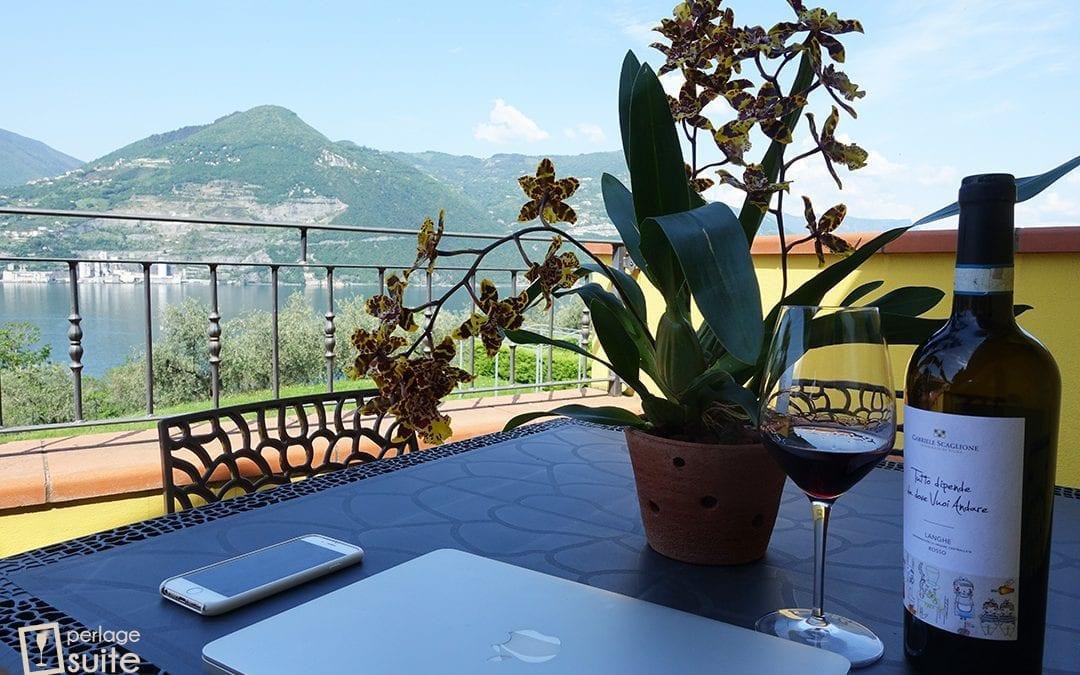 Buon Compleanno Chiara: 33 anni tra vino e orchidee sul mio splendido lago 🌺🍷