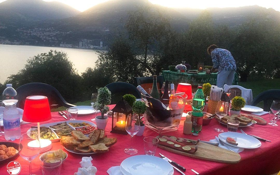 Gravlax: foto ricetta della mia trota marinata e la malvasia di Lupinc in abbinamento