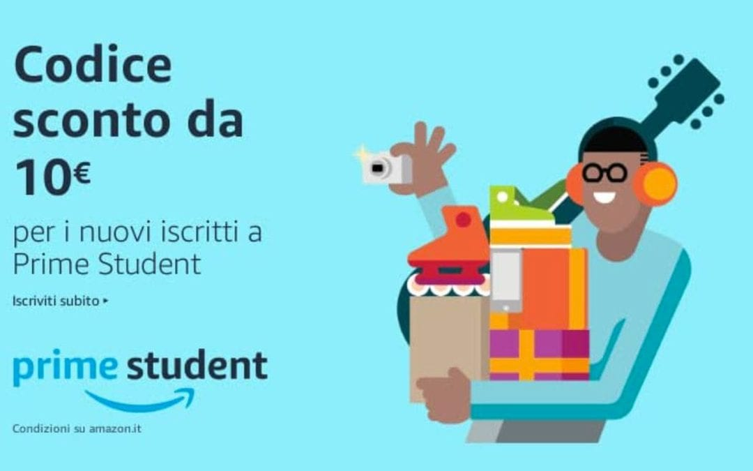 Università di Enologia? Conosci Amazon Prime Student?