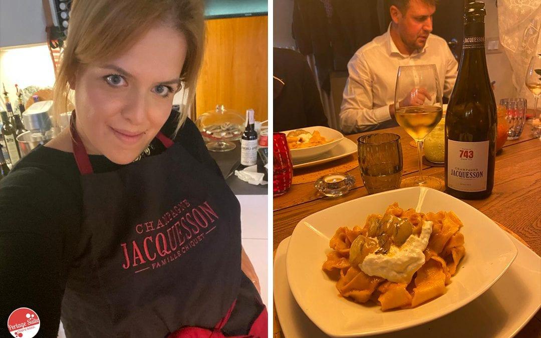 Champagne Day: Jacquesson e la ricetta bisque di gamberi