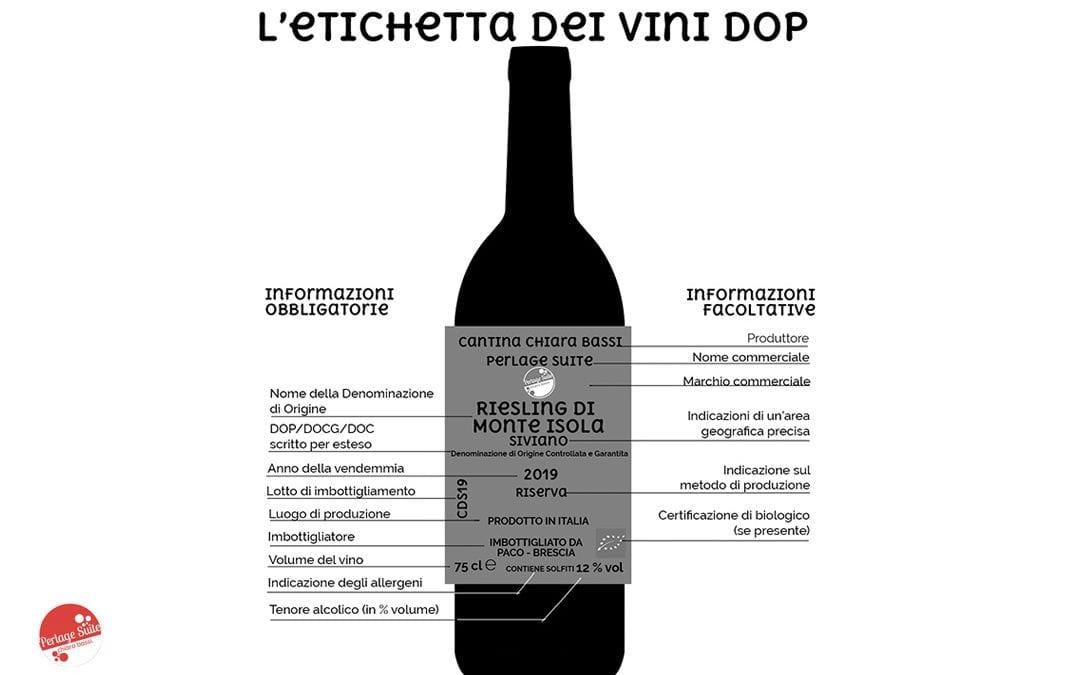 イタリアのワインのラベリング:ラベルの読み方