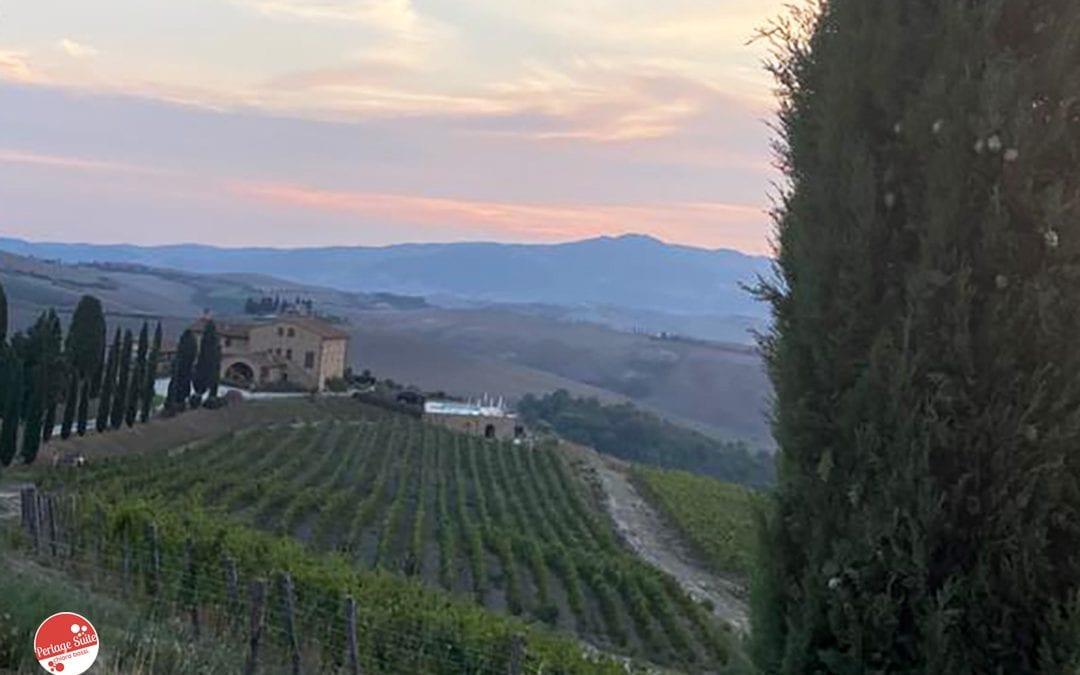 Podere Marcampo: degustazione vini  e ristorante a Volterra