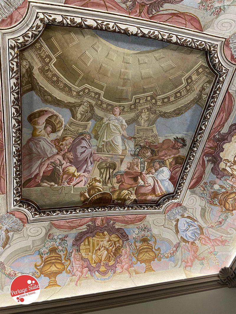 villa pagnoncelli affreschi