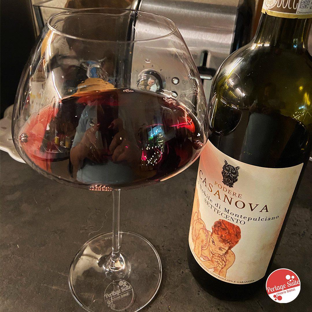 podere casanova vino nobile montepulciano
