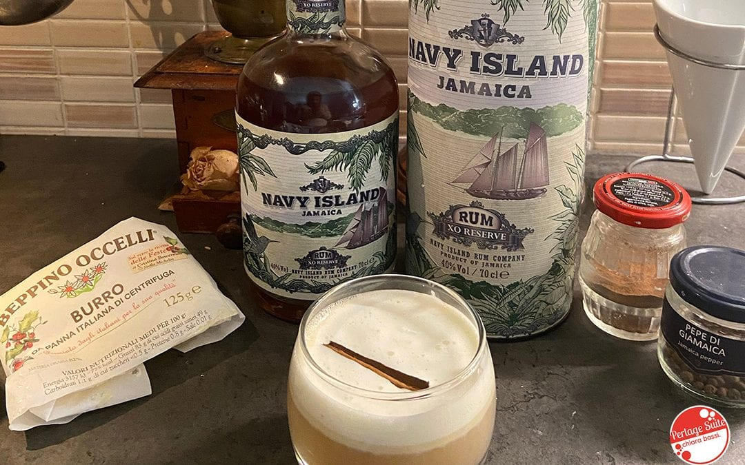 Butter Rum Cocktail: ricetta tradizionale con Navy Island