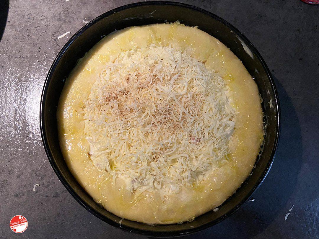 torta patate e pancetta robiola ricetta facile