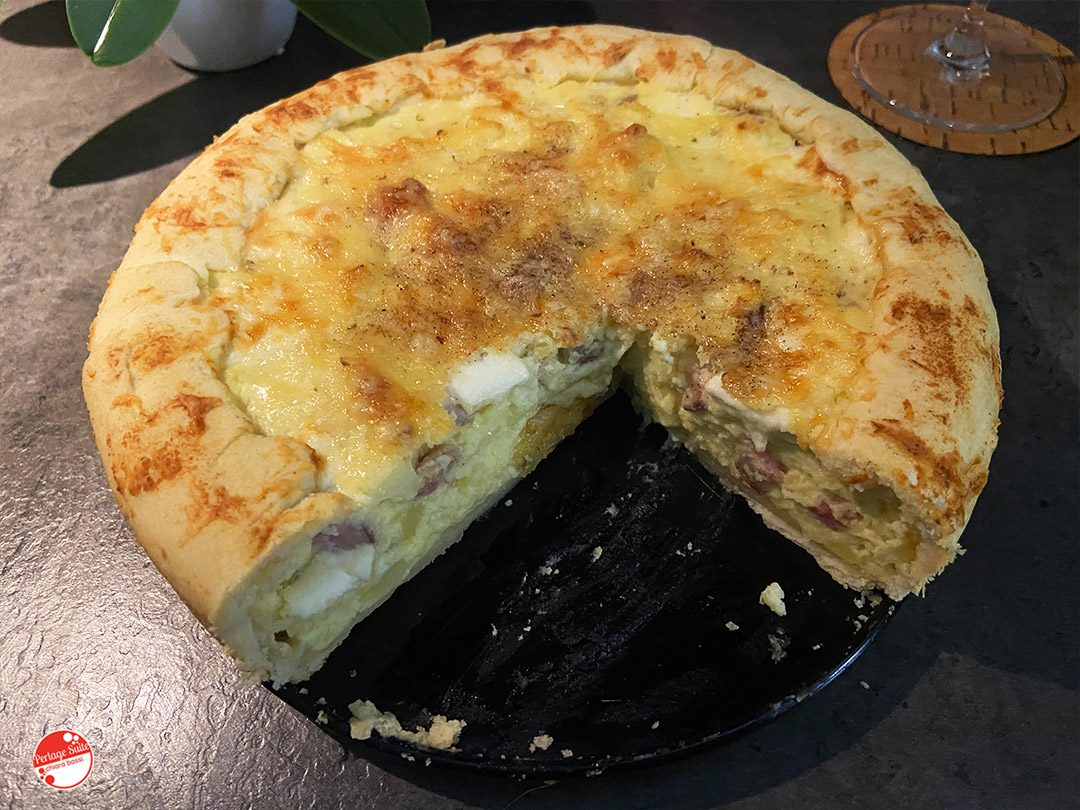 torta salata patate e pancetta ricetta