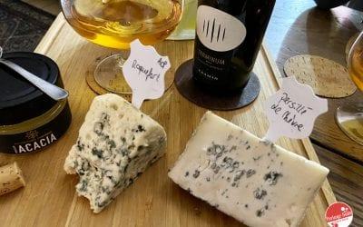 Cantina Tramin: Gewürztraminer Terminum e Roquefort AOP