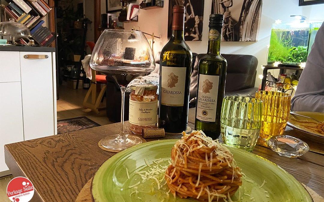 spaghetti al pomodoro ricetta caiarossa