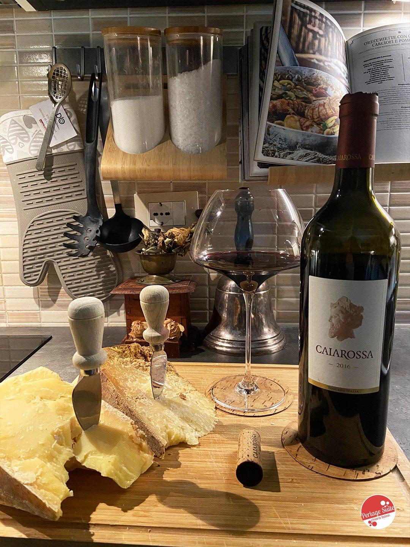 vino toscano caiarossa