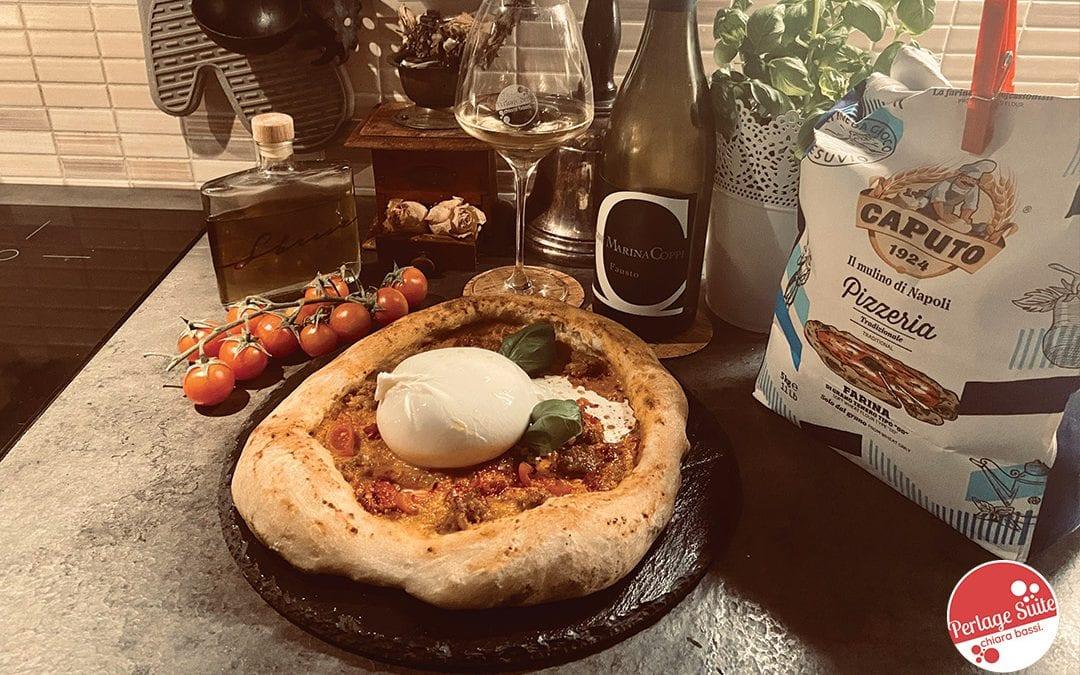 Vigne Marina Coppi e pizza napoletana fatta in casa, super!