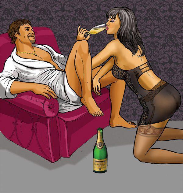 sesso e bollicine