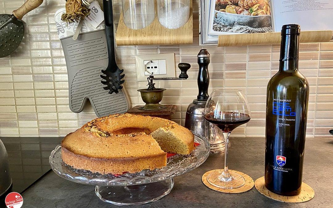 torta al caffè abbinamento vino passito