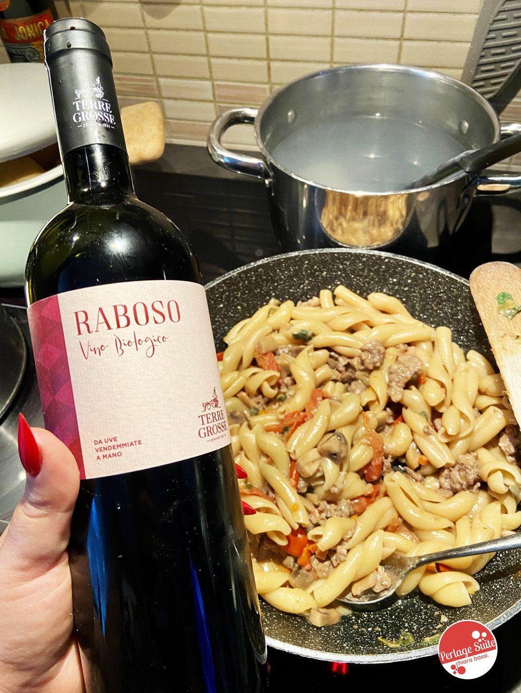 vino rosso biologico terre grosse grapariol