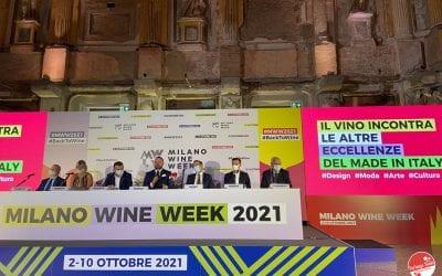 Milano Wine Week 2021: conferenza stampa super!