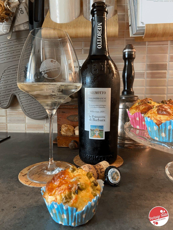 muffin salati ricetta abbinamento vino prosecco
