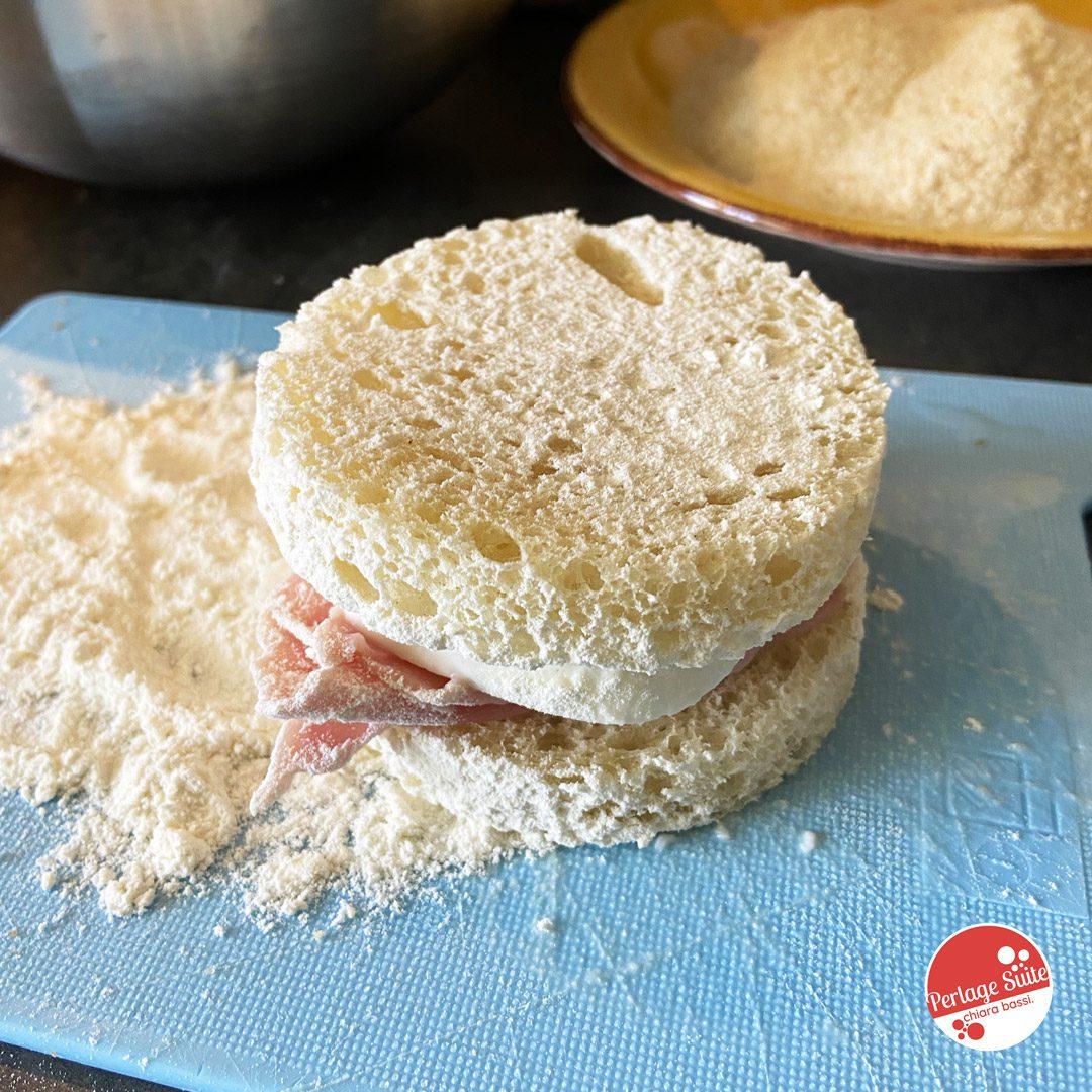 mozzarella in carrozza al forno ricetta