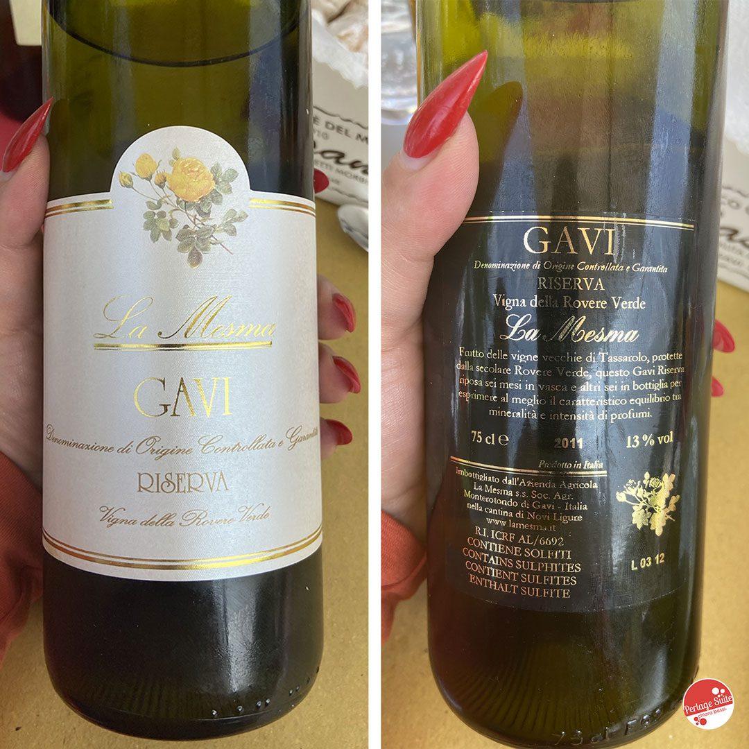 vini bianchi piemontesi la mesma gavi
